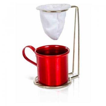 Suporte Mini Coador de café c/ caneca 160 ml